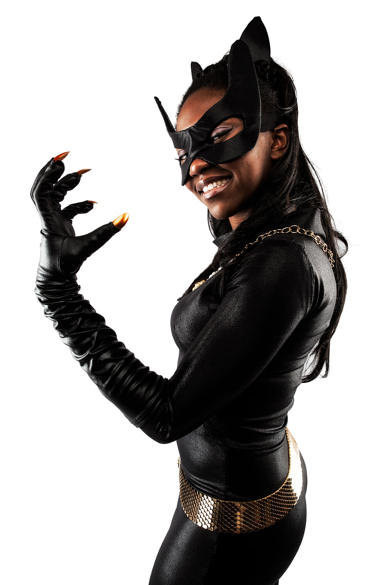 Photograph Eartha Kitt Catwoman Cosplay by Pete Labrozzi on 500px