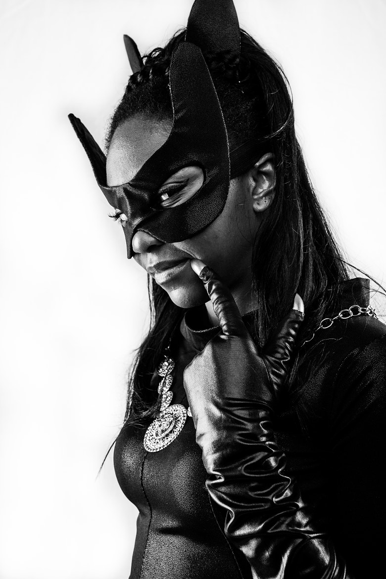 Photograph Eartha Kitt Catwoman Cosplay 2 by Pete Labrozzi on 500px