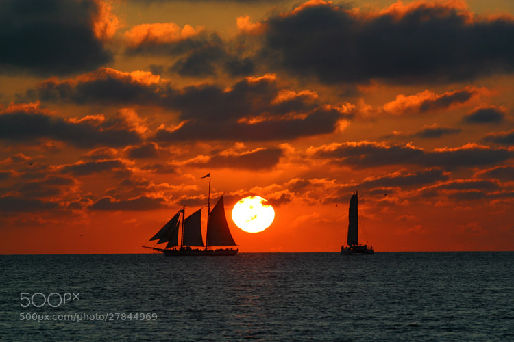 Photograph Sunset Sailing by Andew Osterberg on 500px