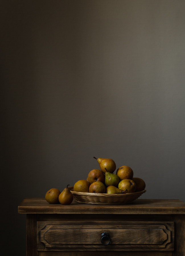 Still-life with pears by Natalia Balanina on 500px.com