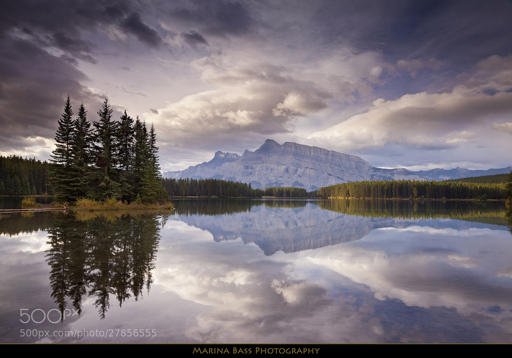 Photograph Mt Rundle Calm Morning by Marina Bass on 500px