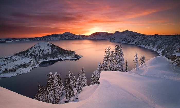 Photograph Crater Lake by Marc  Adamus on 500px