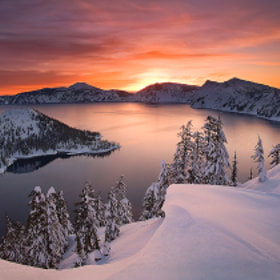Crater Lake by Marc  Adamus on 500px.com