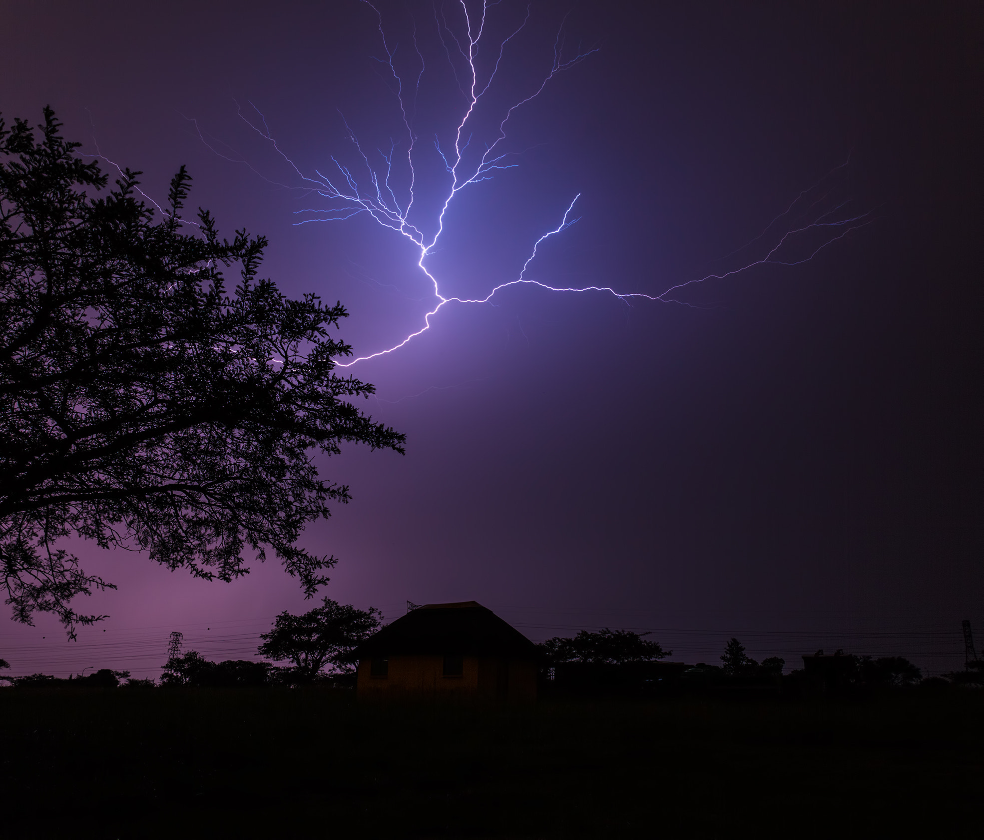 Photograph Fork Lightning by Roger Fanner on 500px