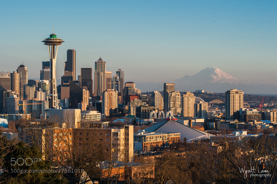 Photograph Seattle Cityscape by Wyatt Lam on 500px