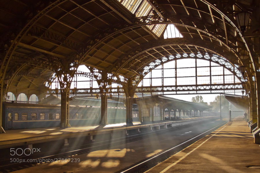 Photograph Train station by Denis Ponomarev on 500px