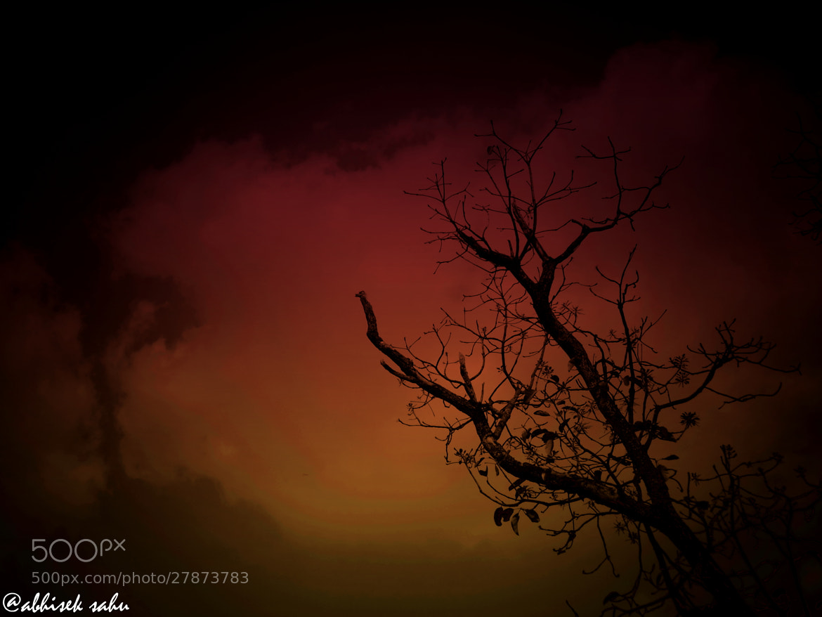 Photograph the bloody sky by Abhisek Sahu on 500px