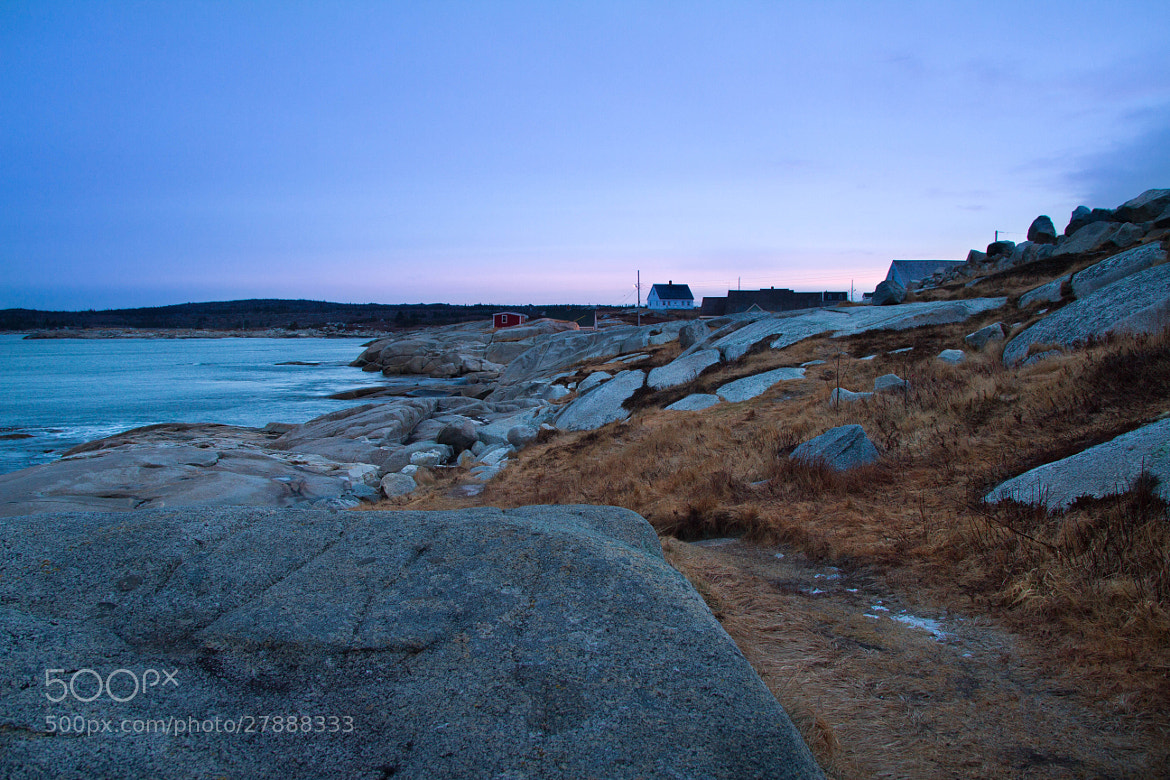 Photograph Sunrise at Peggy's Cove by Ash Furrow on 500px