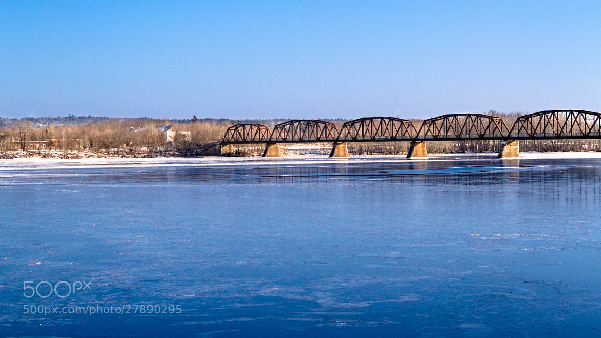 Photograph Fredericton Walking Bridge by Ash Furrow on 500px