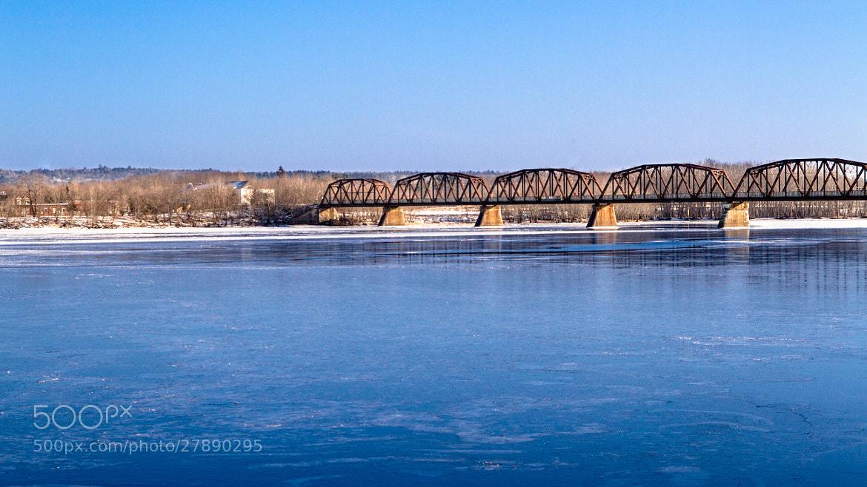 Photograph Fredericton Walking Bridge by Ash Furrow on 500px