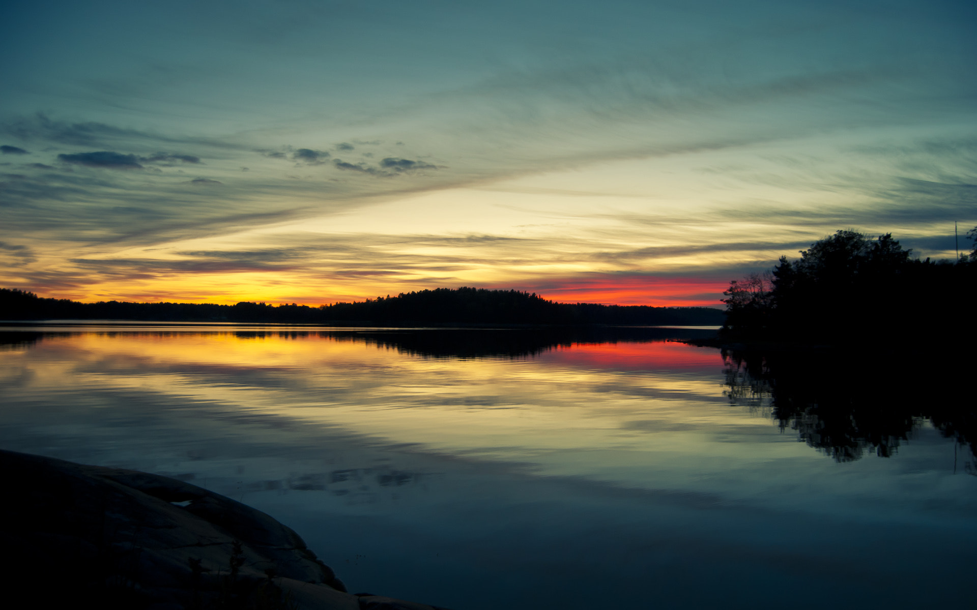 Photograph Sunset of two suns by Andreas Hellqvist on 500px