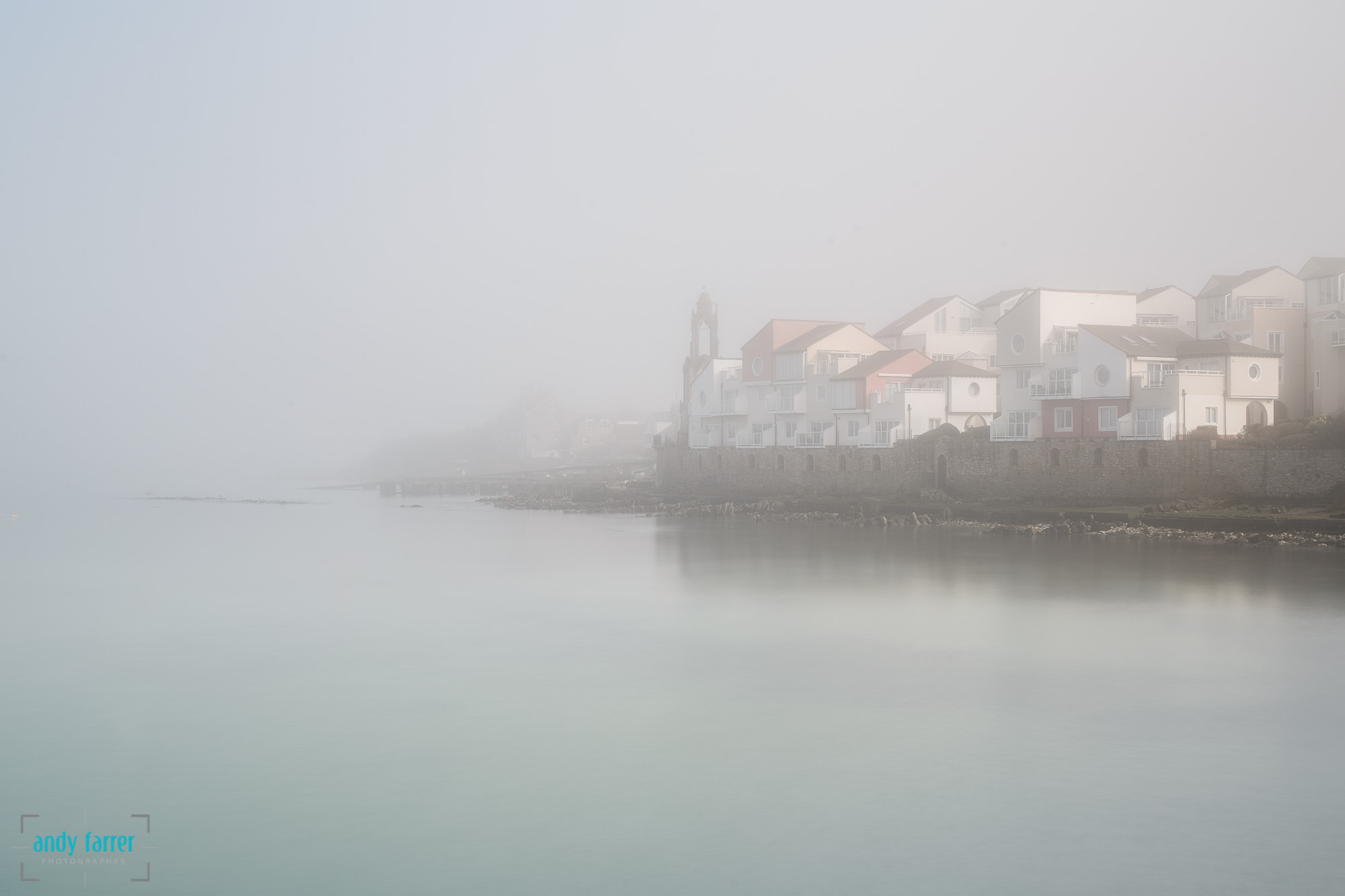 Photograph Peveril Point in the mist by Andy Farrer on 500px