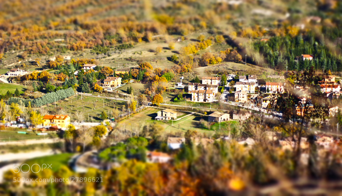 Photograph Mini Mountain City by lollienzo on 500px