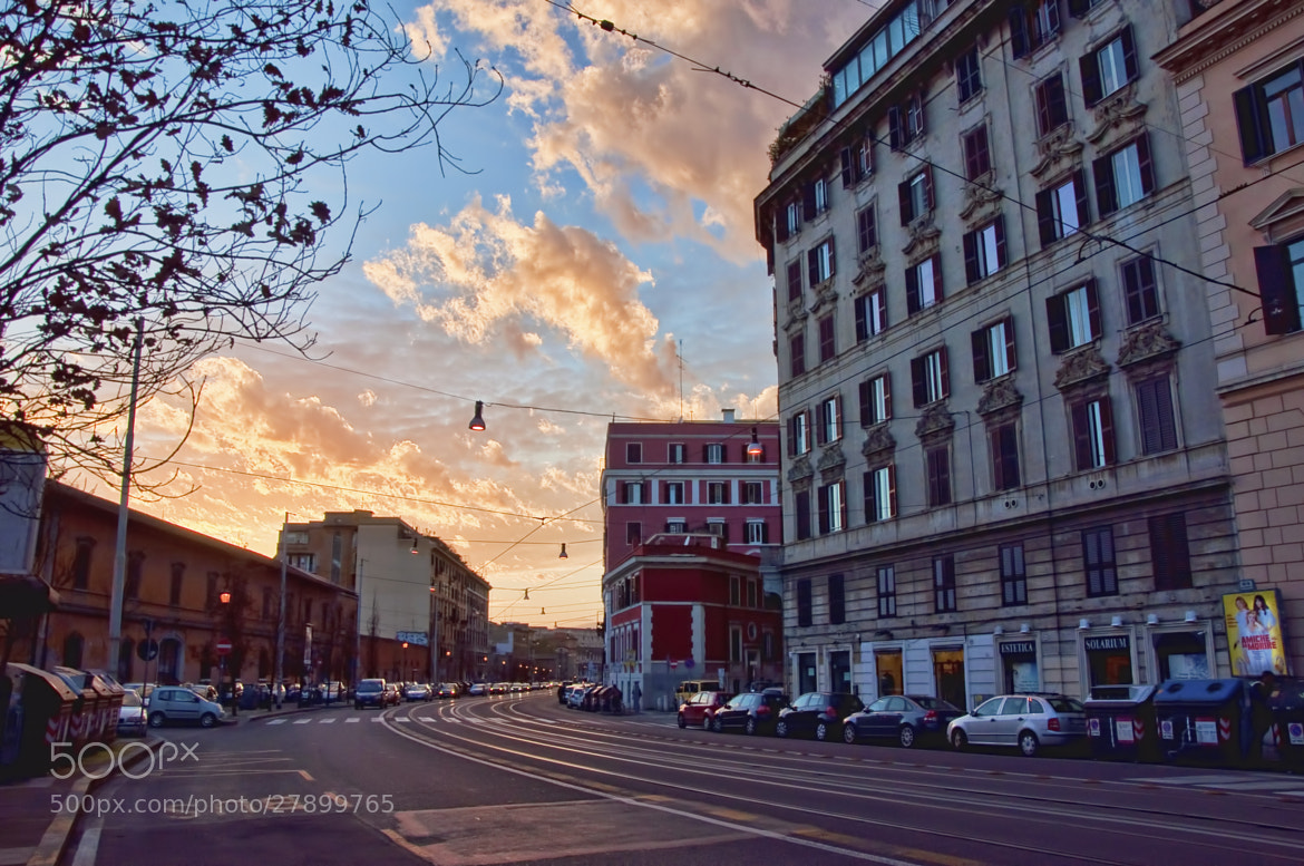 Photograph Vanilla Sky in Rome by Valentina Donnini on 500px