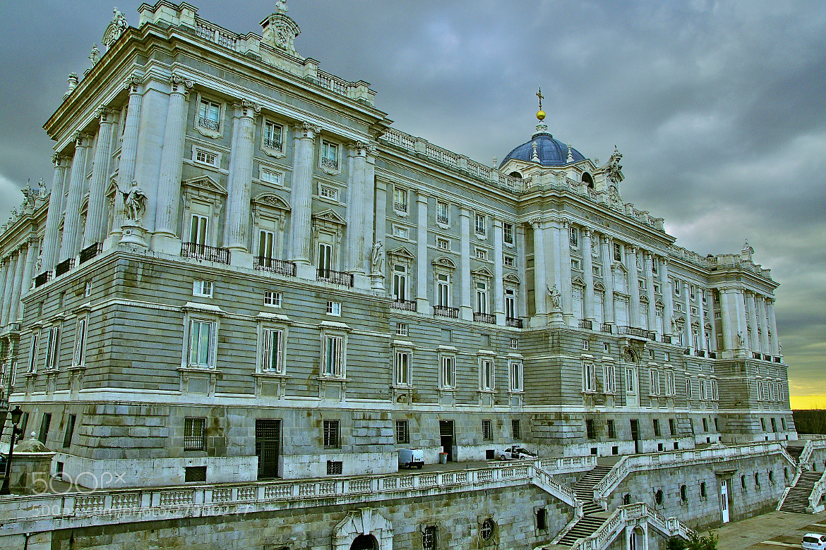 Photograph Palacio Real Madrid by Gilles Le Drian on 500px