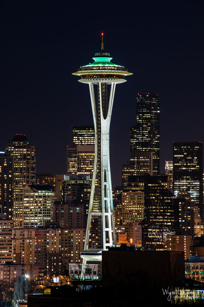 Photograph Space Needle by Wyatt Lam on 500px