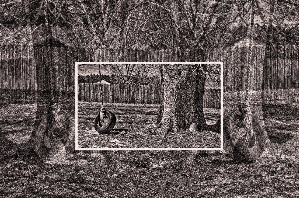 Photograph Old Tire Swing II by Jerome Cartier on 500px