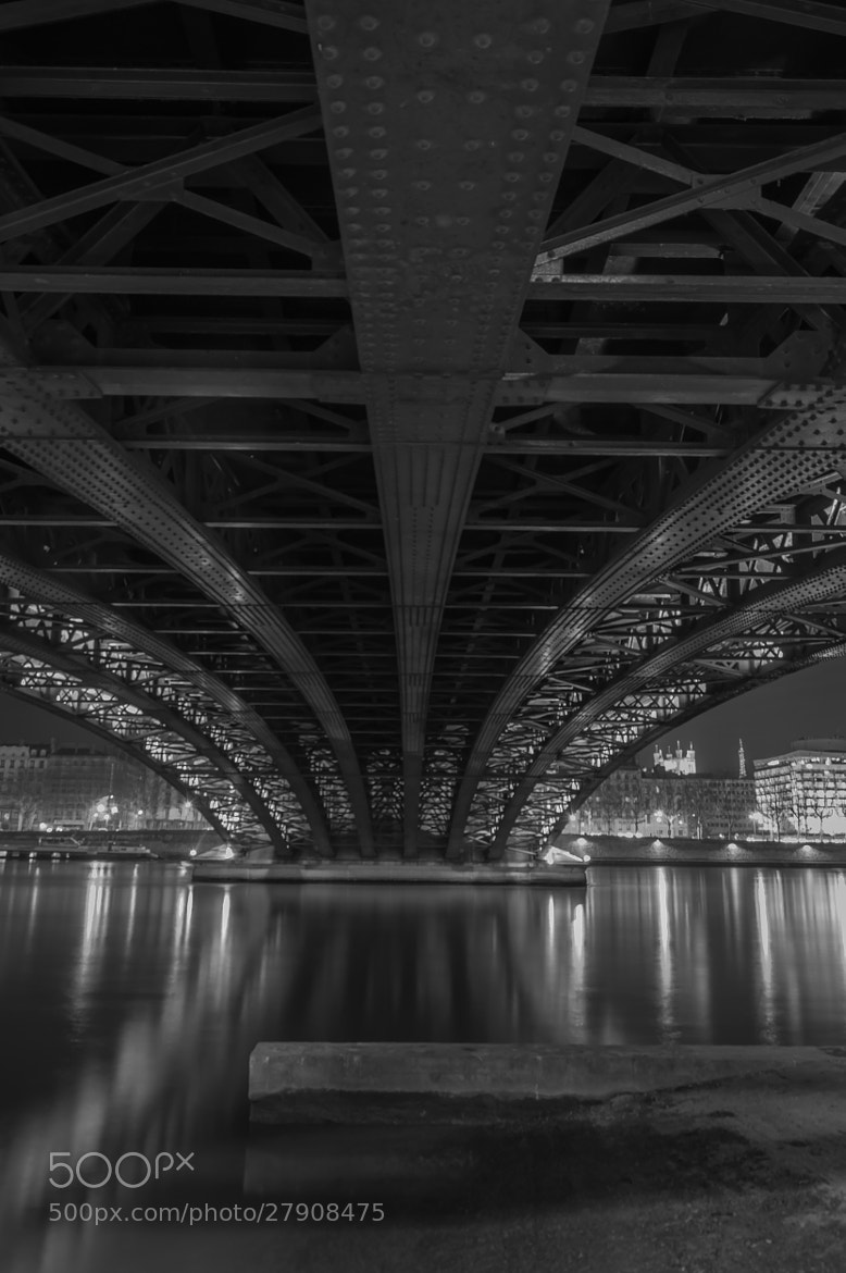 Photograph Under steel bridge by serge vincent on 500px