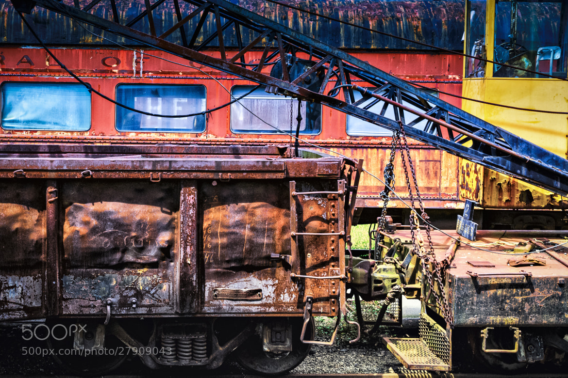 Photograph Forgotten Iron by Chris Buff on 500px