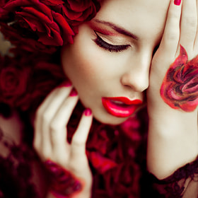 They call me the wild rose by ViCOOLya & SAIDA (vicoolya-saida)) on 500px.com