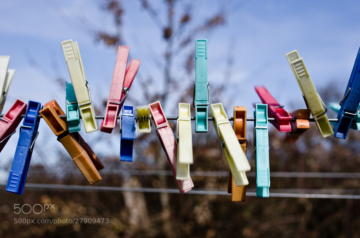 Photograph pinces à linge by David Rodriguez on 500px