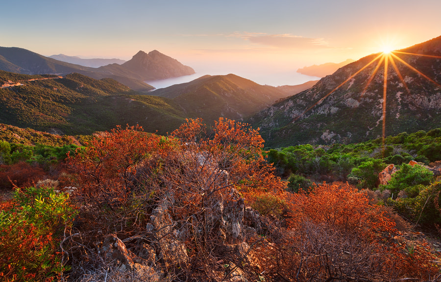Photograph Scondola Sunset by Michael  Breitung on 500px