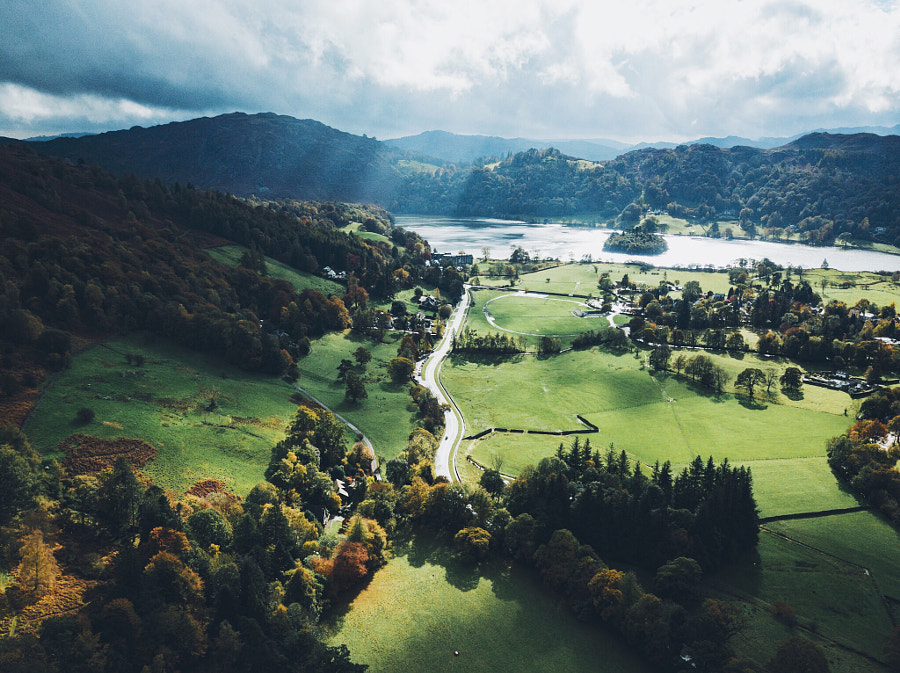 Ambleside to Grasmere , автор — Daniel Casson на 500px.com