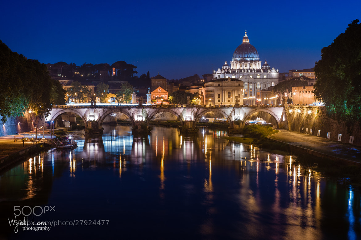 Photograph Ponte Sant'Angelo by Wyatt Lam on 500px