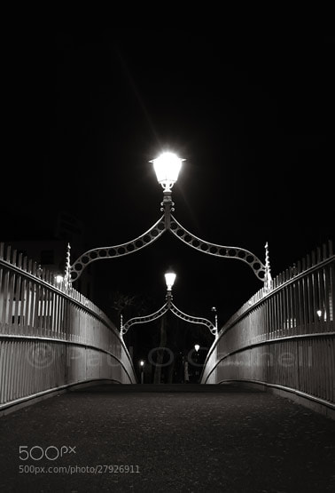 Photograph Ha'penny Bridge by Paul O'Connell on 500px