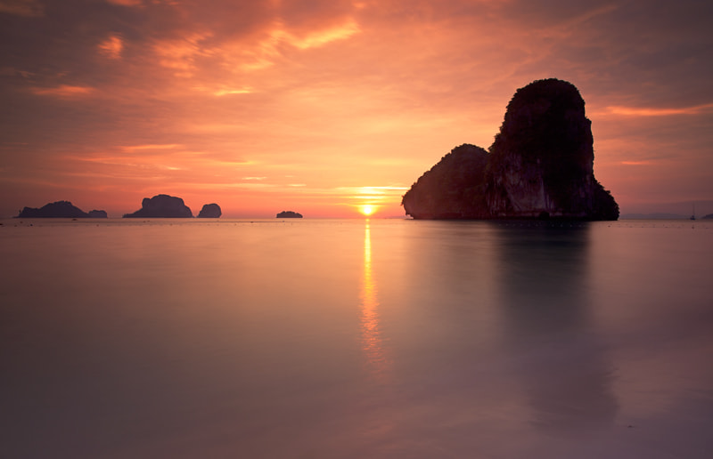 Photograph Phra Nang Bay Sunset (Thailand) by Sonia Blanco on 500px