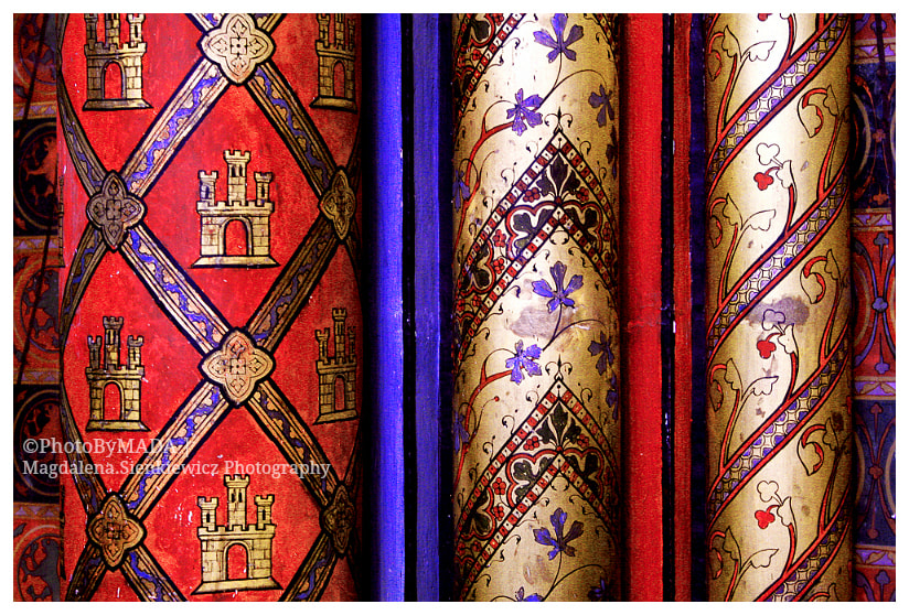 Photograph Saint Chapelle - detail by Magdalena Sienkiewicz on 500px