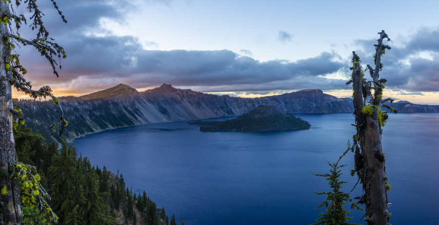 Crater Lake by sam wirch on 500px.com