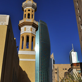 Minaret in the city by Simon Sperling (aperture24)) on 500px.com