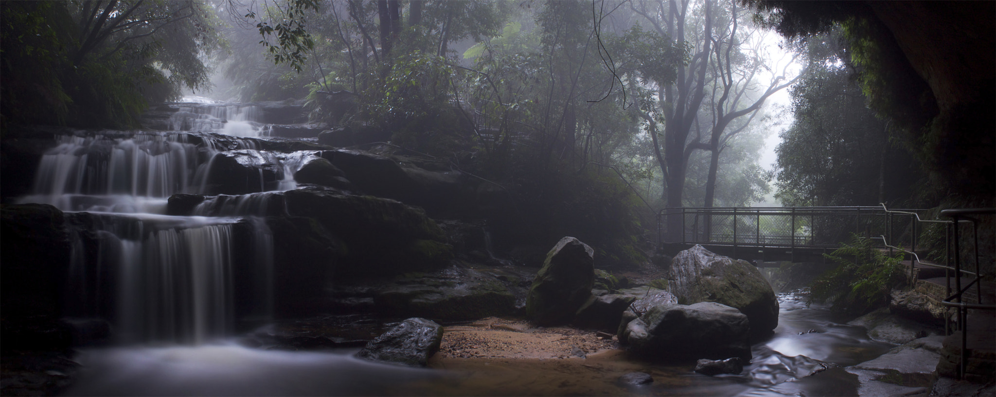 Photograph Taking In The Cascades    LEURA CASCADES by Rhys Pope on 500px