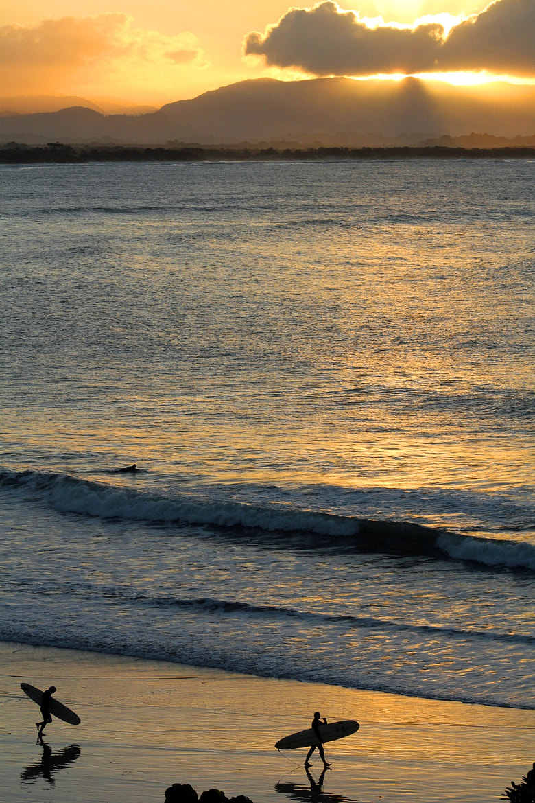 Photograph Evening Surfers by Vince Lane on 500px