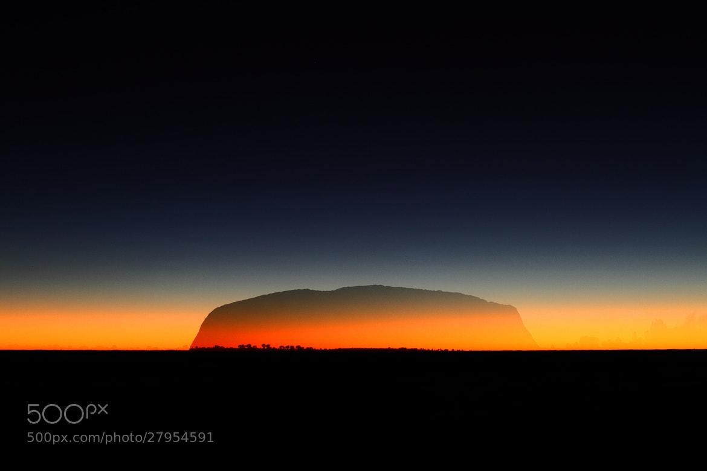 Photograph Uluru Ghost Rock by rob woodward on 500px