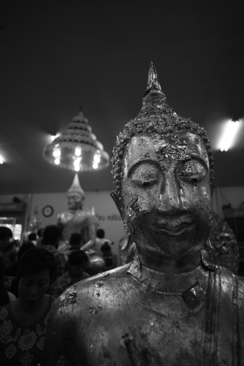 Photograph Bhudda in B&W by nike_mayfly on 500px