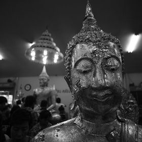 Bhudda in B&W by nike_mayfly ) on 500px.com