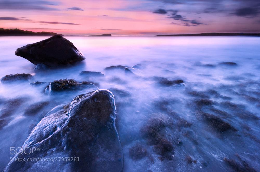 Photograph Scottish sunset by Sidney Bovy on 500px