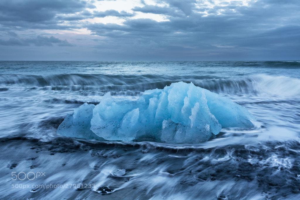 Photograph Behemoth, Jokulsa beach, Iceland by Simon Byrne on 500px