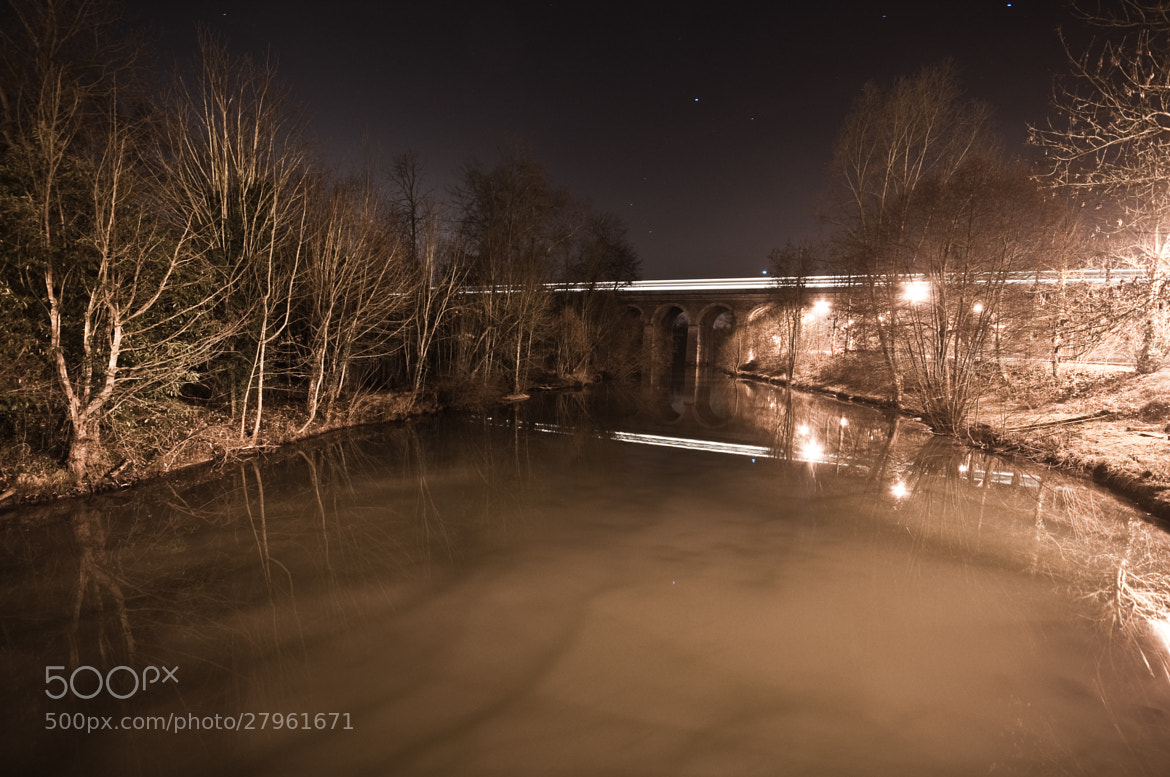Photograph Canale of the Yerres ( France ) by Nabil BACHIR-CHERIF on 500px