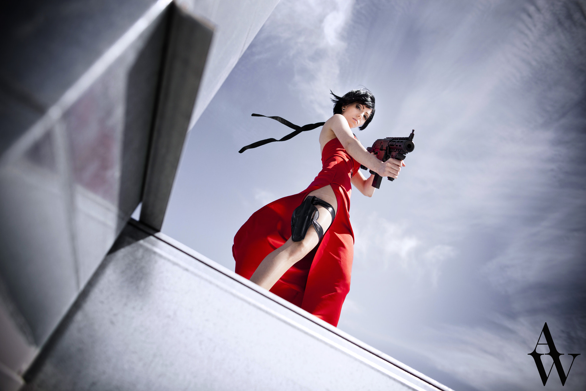 Hot foto cosplay ada wong di resident  anime gallery