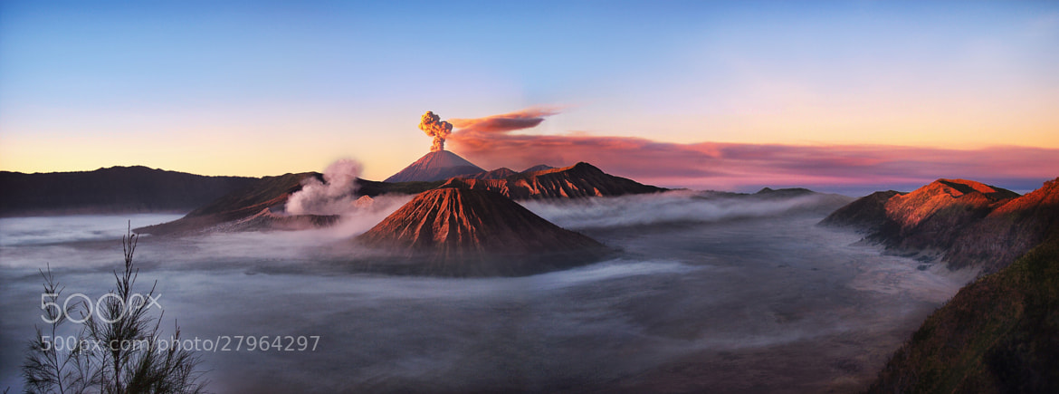 Photograph Here Comes The Bromo Again by Igor Pilawski on 500px