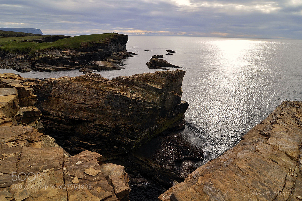 Photograph Yesnaby cliffs by Albert Miguel on 500px