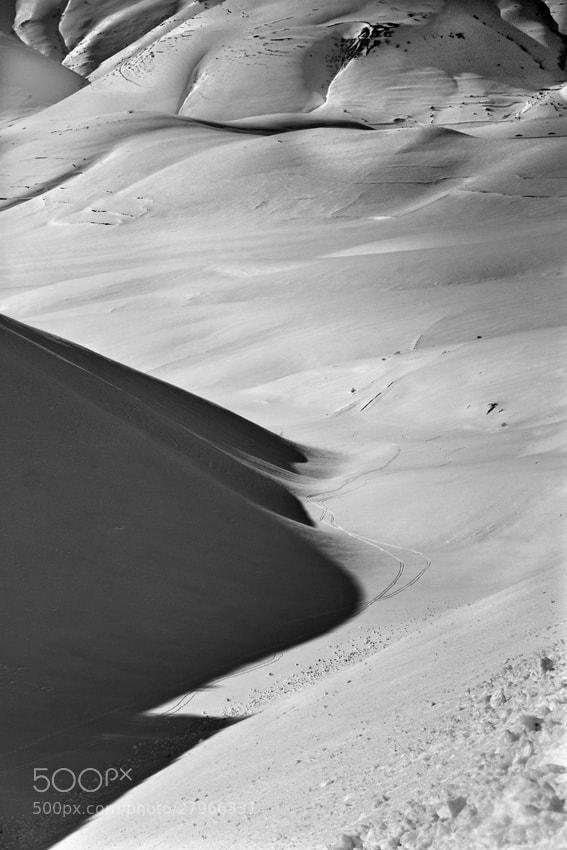 Photograph Snow Shadow by mario pignotti on 500px