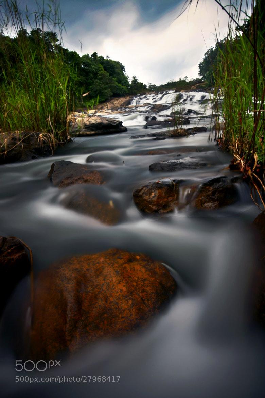 Photograph Lata Rek Waterfall by Qallam Ahmad on 500px