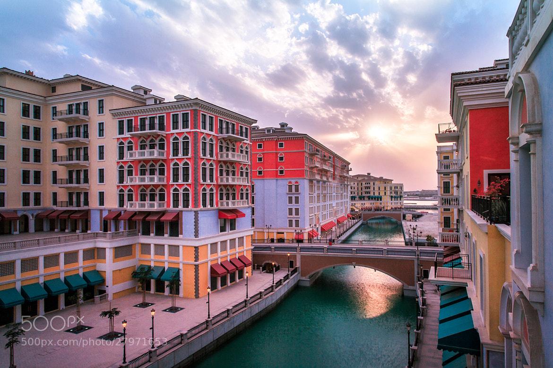 Photograph Qanat Quartier The Pearl Qatar by Helminadia Ranford on 500px