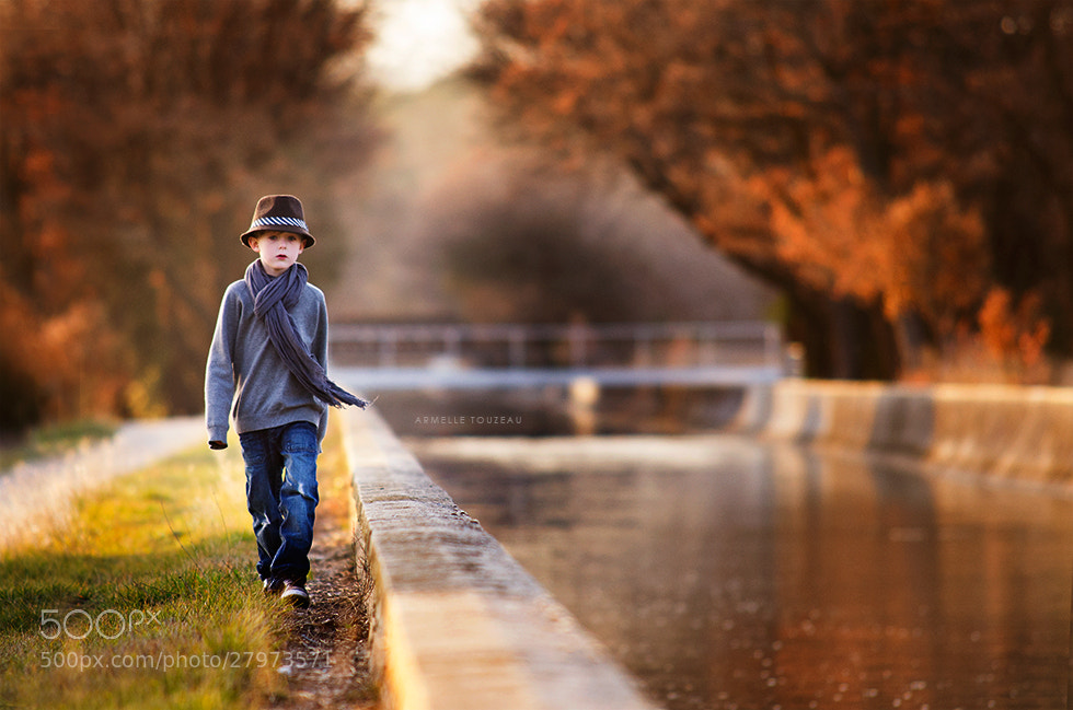 Photograph Le chapeau et le pont by Armelle Touzeau on 500px