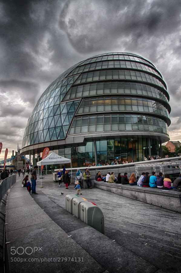 London City Hall by Daniele Lembo on 500px.com