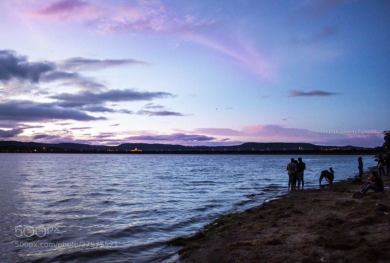 Photograph Evening sky by Deepak Pawar on 500px